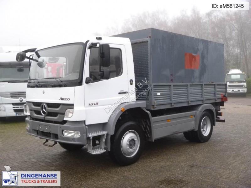 camion mercedes plateau atego 1018 4x4 occasion n 2453702. Black Bedroom Furniture Sets. Home Design Ideas