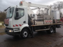 Renault telescopic articulated aerial platform truck