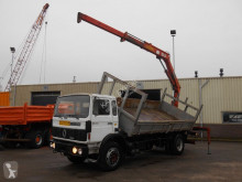 camion Renault G230 Kipper + Hiab Crane Good Condition