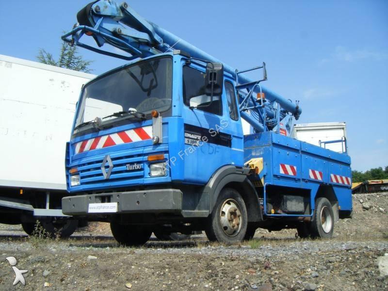 Camion Renault Nacelle T 233 Lescopique Gamme S 100 4x2 Gazoil Occasion N 176 2457799