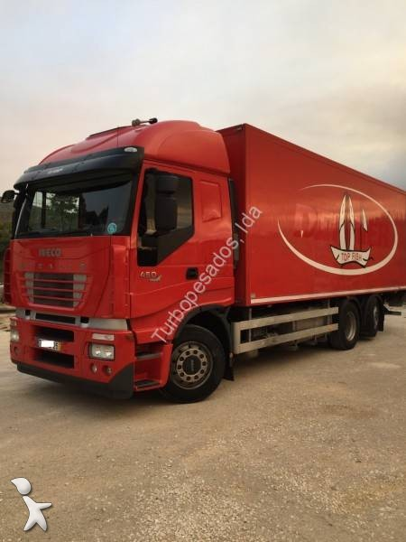 camion iveco fourgon stralis 260 s 45 6x2 gazoil euro 5 hayon occasion n 2458307. Black Bedroom Furniture Sets. Home Design Ideas
