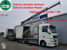 MAN TGX 26.440 111m³ Jumbo+ Kran PK18002 12,5m=1,14t truck