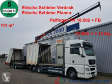 camion MAN TGX 26.440 111m³ Jumbo+ Kran PK18002 12,5m=1,14t