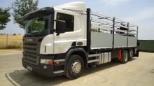 Camión caja abierta Scania P 340