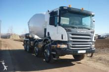 Camión hormigón cuba Mezclador Scania CAMION HORMIGONERA SCANIA 380 8X4 2007 10
