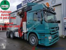 camion Mercedes 2548 6x2 Kran Palfinger Epsilon Deutscher LKW