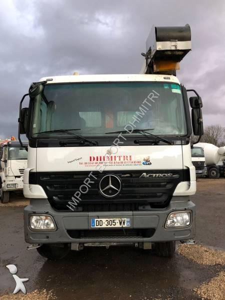 camion mercedes b ton toupie malaxeur actros 3236 8x4 gazoil euro 4 occasion n 2469350. Black Bedroom Furniture Sets. Home Design Ideas