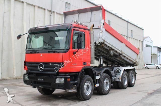 Camion ribaltabili 8x4 bayern 6 annunci di 8x4 bayern usati for Rimorchi ribaltabili trilaterali usati
