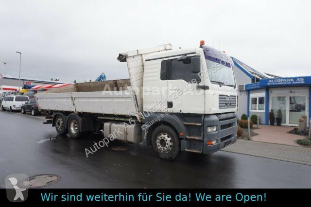 Camion MAN TGA 26.430 6x2 Dreiseitenkipper Baustoff Getreid