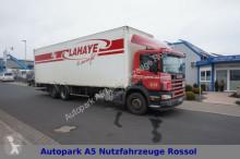 camion Scania Koffer 114L 340 6x2 Lift Lenkachse Klima