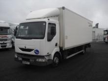 ciężarówka furgon furgon drewniane ściany Renault