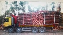 Mercedes timber truck