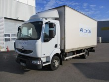 Renault plywood box truck
