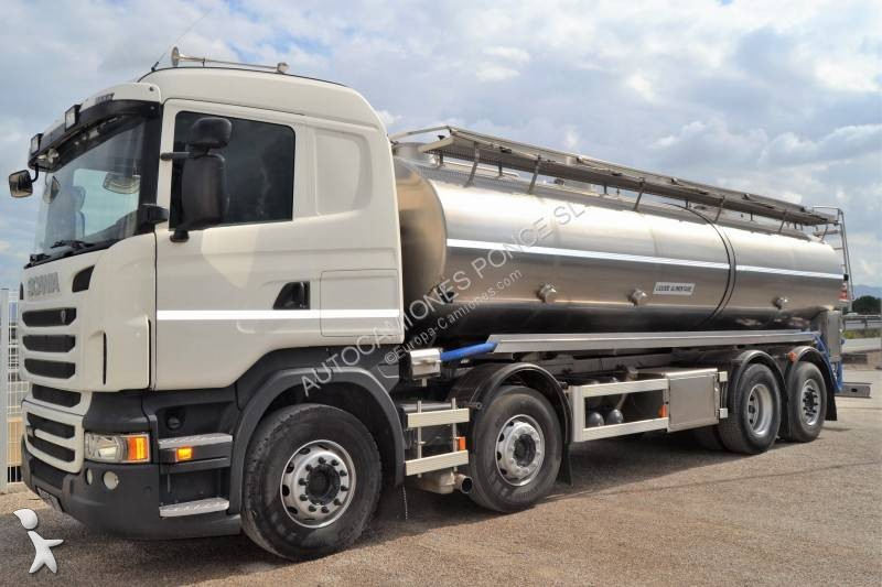 camion citerne alimentaire occasion scania r 440 gazoil