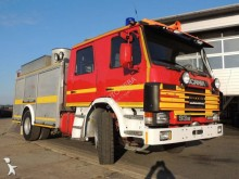 camion camion-citerne feux de forêts Scania