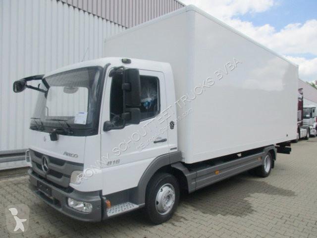 camion mercedes fourgon atego 816 4x2 r cd umweltplakette. Black Bedroom Furniture Sets. Home Design Ideas