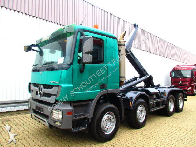 Camion Mercedes 4141K   8x4  4141K8x4, Meiller RK30.65TLS