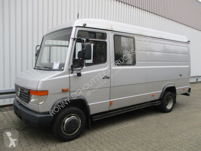 Camion Mercedes 614 D 614D 4x2 Doka, 6-Sitzer Radio