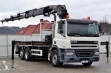 DAF CF 85.340* 6,50 m*CRANE 322HIAB!!6x2 truck