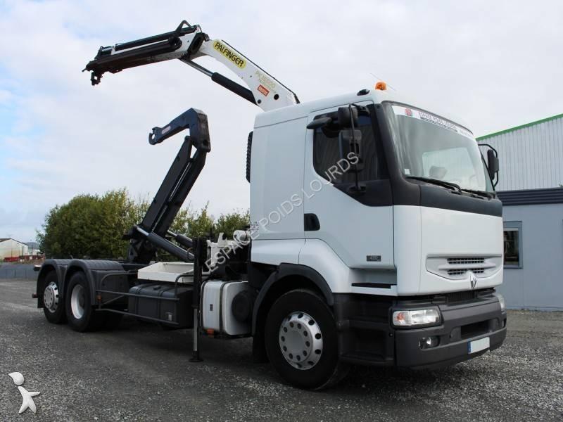 camion renault polybenne guima premium 6x2 gazoil euro 3. Black Bedroom Furniture Sets. Home Design Ideas