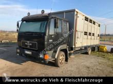camion van per trasporto di cavalli MAN