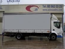 Camión lona corredera (tautliner) DAF LF55 220