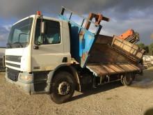 camion benă trilaterala DAF