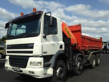 DAF two-way side tipper truck