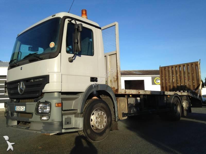 camion porte engins occasion mercedes actros 2536 annonce n 2504165. Black Bedroom Furniture Sets. Home Design Ideas