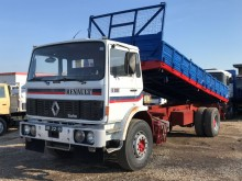 Renault three-way side tipper truck