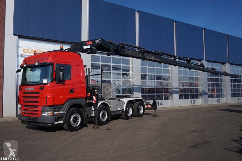 Andre lastbiler Scania R 480 8x4 Diesel Euro 4 kran brugt - nr.2504552