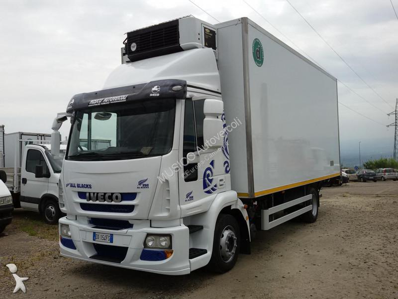 camion iveco frigo eurocargo 120e25 frigo sponda usato n 2505415. Black Bedroom Furniture Sets. Home Design Ideas