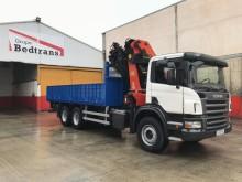 Camión caja abierta transporte de bebidas Scania P 310