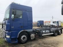 Camión portacontenedores DAF XF95 430