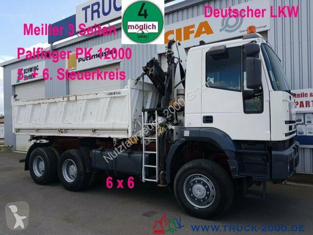 Camion Iveco MP 260E38 6x6 Meiller Palfinger PK12000