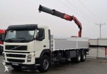 Volvo FM380 Pritshe 7,90m + Kran Fassi 230* 6X4! truck
