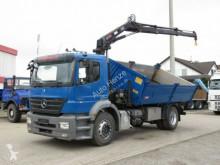 camion Mercedes Axor 1824 2-Achs Kipper Kran nur 193TKM, Greifer