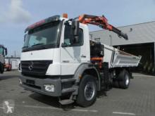 Mercedes Axor 1833 K 2-Achs Kipper Kran 10m/to., Greifer truck