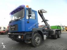 MAN F2000 27.364 6x4 Abrollkipper Hiab, hydr. Verr. truck
