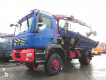 MAN three-way side tipper truck