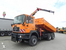 MAN F2000 28.414 DFAK 6x6 3-Achs Kipper Kran WD Ausr truck
