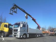 MAN TG-X 26.440 6x2 Pritsche Heckkran Zange, Lenk+Li truck