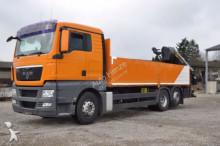 MAN TG-X 26.440 6x2-2 LL Pritsche Heckkran Lenk+Lift truck