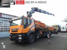 Iveco STRALIS 260 S 45 3-Achs Kipper Kran Containerver truck