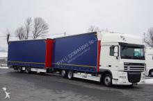 DAF - 105.460 / SSC / EEV / ZESTAW PRZEJAZDOWY 120 M3 + remorque truck
