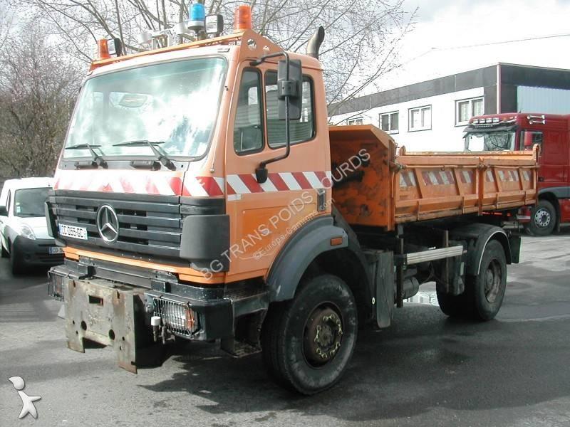 Camion mercedes ribaltabili 1824 5 annunci di ribaltabili for Rimorchi ribaltabili trilaterali usati