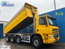 camion Ginaf X 4446 TS Manual, Steel suspension, Air press cabin
