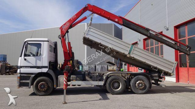 Camion ribaltabili 2497 annunci di camion ribaltabili for Rimorchi ribaltabili trilaterali usati