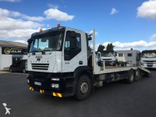 Iveco heavy equipment transport truck