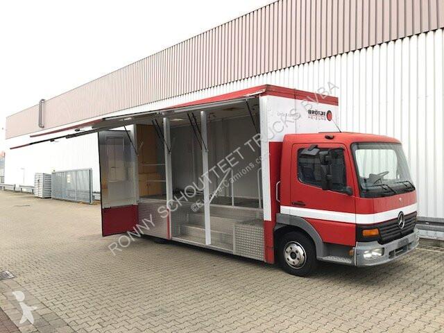 Camion Mercedes 817 4x2  817 4x2 mit Verkaufsaufbau
